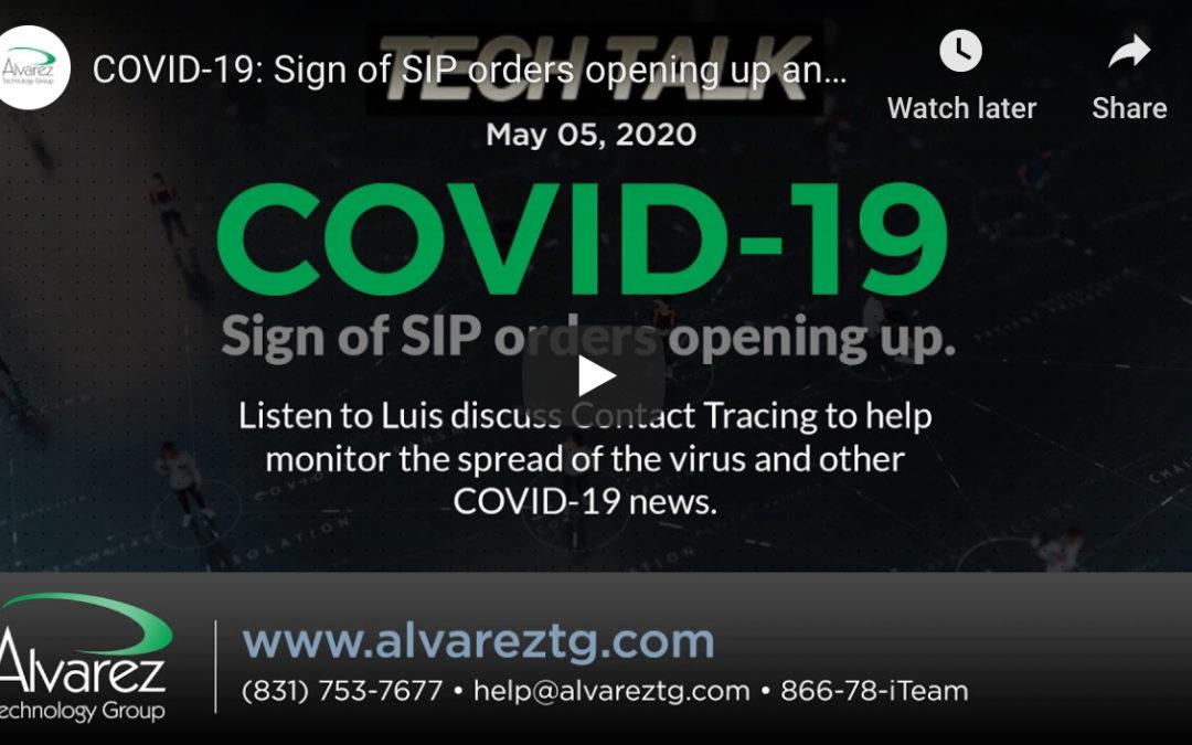 Alvarez Technology Group's Luis Alvarez Talks COVID-19 Contact Tracing On Power Talk Radio